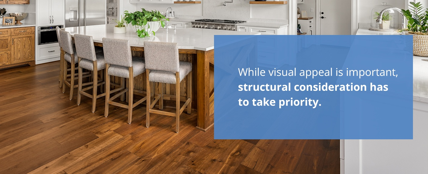flooring structural consideration