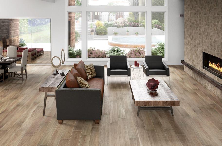 Wood Look Tile: Daltile Emerson Wood