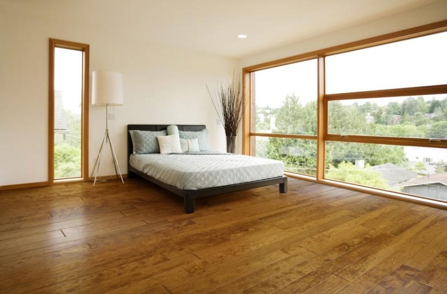 Modern Wood Flooring: Johnson Hardwood Wilderness Birch Engineered Wood