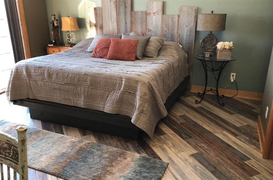 Wood Bedroom Floors: 13mm Tuffcore Estate WaterResist Laminate
