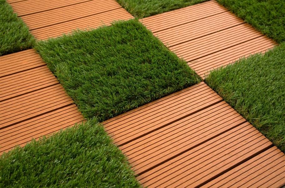 Artificial Grass Myth 1: Helios Artificial Grass Deck Tiles